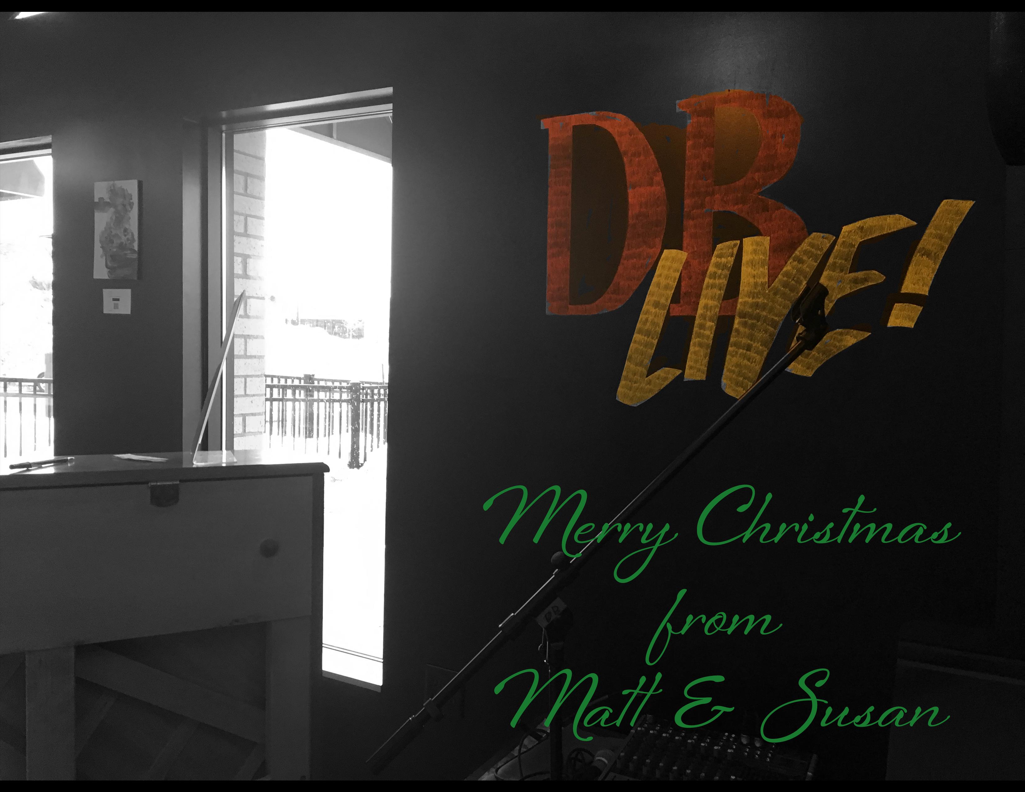 DB AH LIVE wall pic Christmas