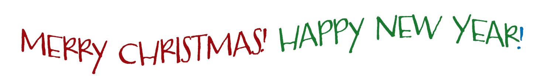Merry Christmas! Happy New Year!